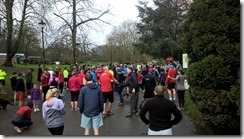 Runners Gathering Before Crystal Palace Parkrun