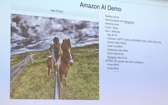 Amazon AI Demo