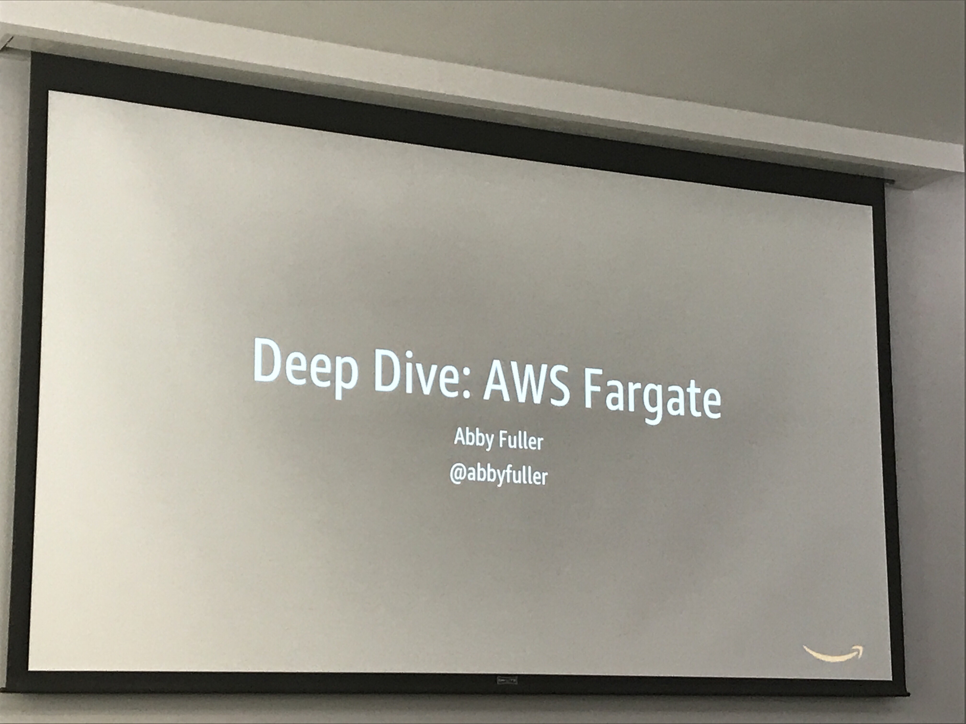 AWS Builders Day Part 4 – Deep Dive in AWS Fargate