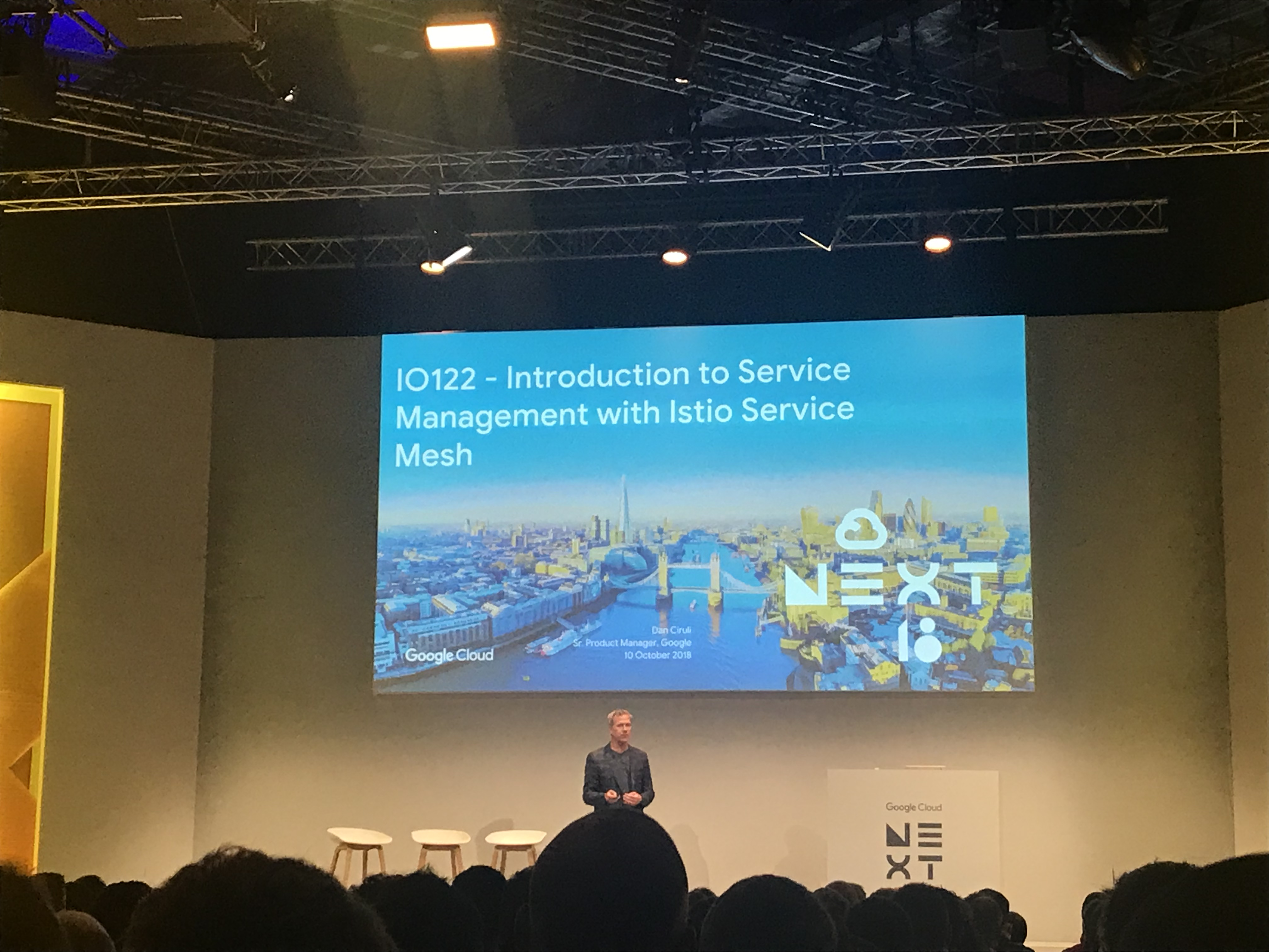 Google Next 2018 – London – Introduction to Service